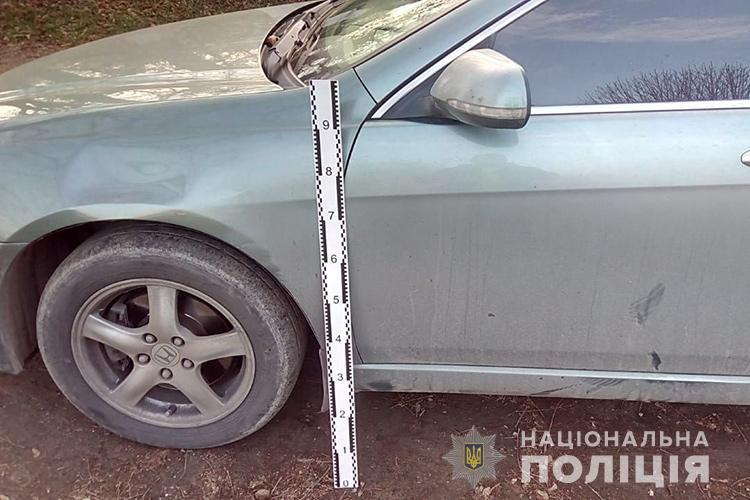 """На Тернопільщині водій на """"Хонді"""" порушив правила і збив велосипедиста (ФОТО)"""