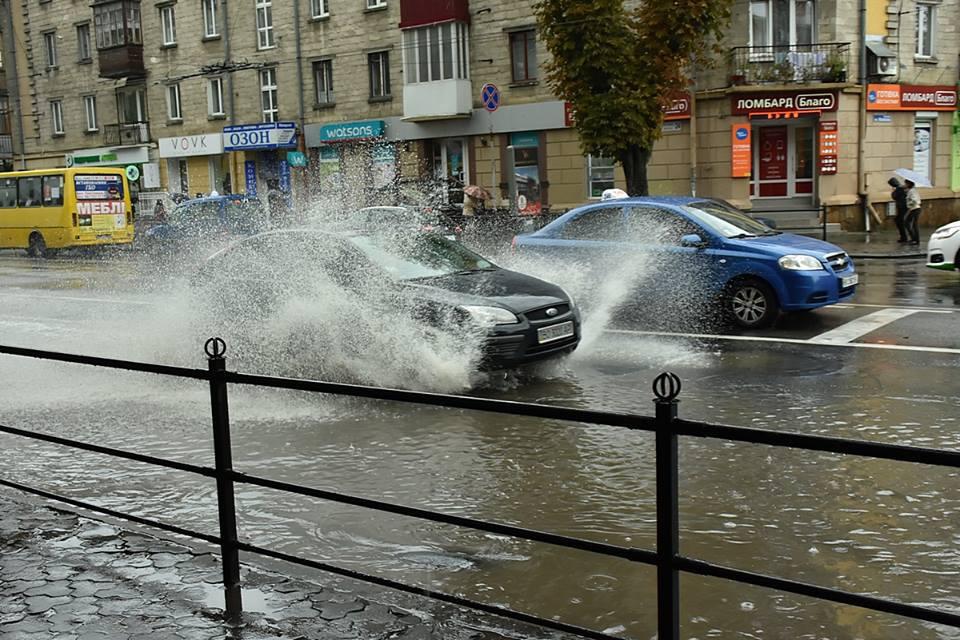 Жителям Тернопільщини радять готуватись до дощів