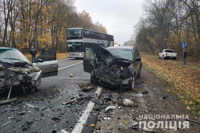 Аварія біля Тернополя забрала життя молодої мами