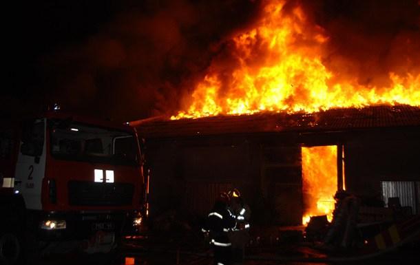 У пожежі на Тернопільщині згоріли десятки тварин