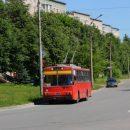 У тернопільських тролейбусах гріються безхатьки