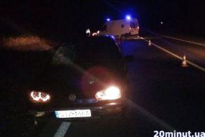 20-річний водій на польських бляхах смертельно поранив пішохода