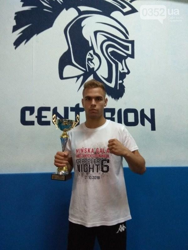 Тернопільський спорстемен став переможцем у професійних боях у Польщі