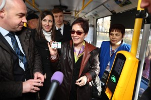 Посол США ознайомилась з досвідом впровадження електронного проїзного квитка у Тернополі