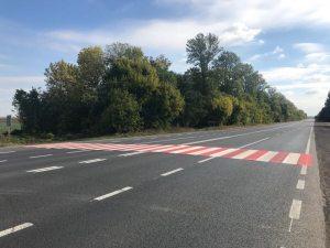 На Тернопільщині облаштовують шумові смуги та пішохідні переходи з пластику