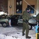 """Нічна погоня у Тернополі: п'яний водій зіткнувся із """"Тойотою"""" і металевою огорожею (ФОТО)"""