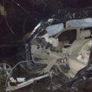 Трагедія на зимовій дорозі: загинуло два пасажири Лексуса, один в реанімації (ФОТО) (оновлено)