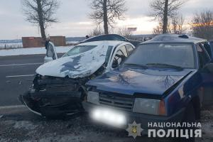 Співробітник поліції потрапив у ДТП на Підволочиському шосе