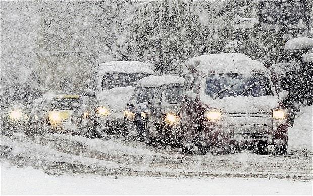 Атмосферний фронт принесе на Тернопільщину снігопади