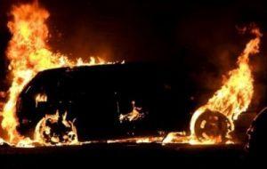 На Тернопільщині розлючений тесть підпалив джип колишньому зятю (ВІДЕО)