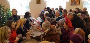 У Тернополі влаштували благодійний Святвечір для потребуючих