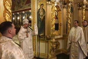 Владика Теодор провів різдвяне Богослужіння в Архикатедральному соборі Тернополя