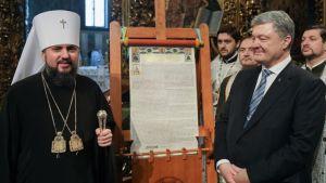 Світ визнав Томос для української церкви перемогою Порошенка – експерт
