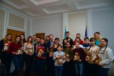 Діти Донбасу на Різдво побували на Тернопільщині