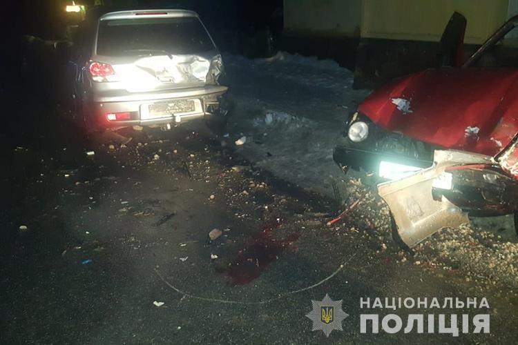 На Тернопільщині водій збив поліцейського і ще двох людей (ФОТО)