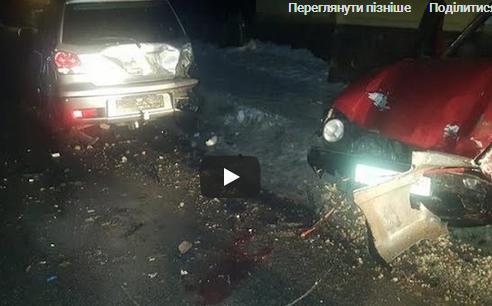 Водій збив трьох людей: жахлива аварія на Тернопільщині (ВІДЕО)