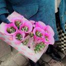 Зірвані та незаконні: у Тернополі торгували квітами з Червоної книги