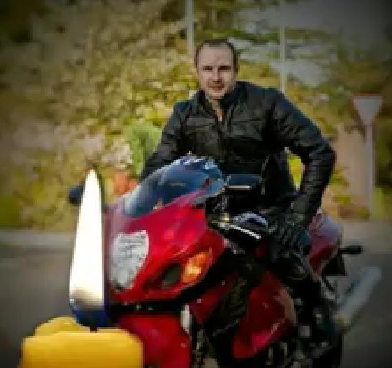 Показали відео в пам'ять мотоцикліста, який розбився біля Тернополя (ВІДЕО)