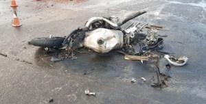 Трагедія під Тернополем: мотоцикліст загинув після зіткнення з вантажівкою