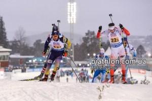 У стартовій гонці чемпіонату світу тернополянин обігнав легенду біатлону