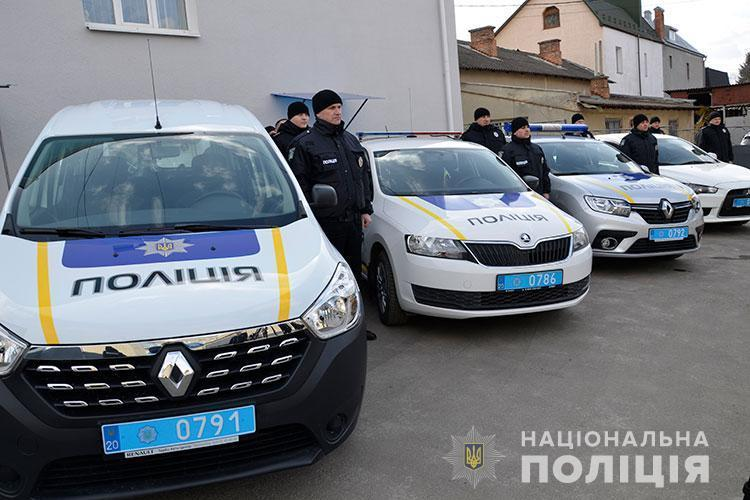 Поліцейські Тернопільщини оновили службовий автопарк
