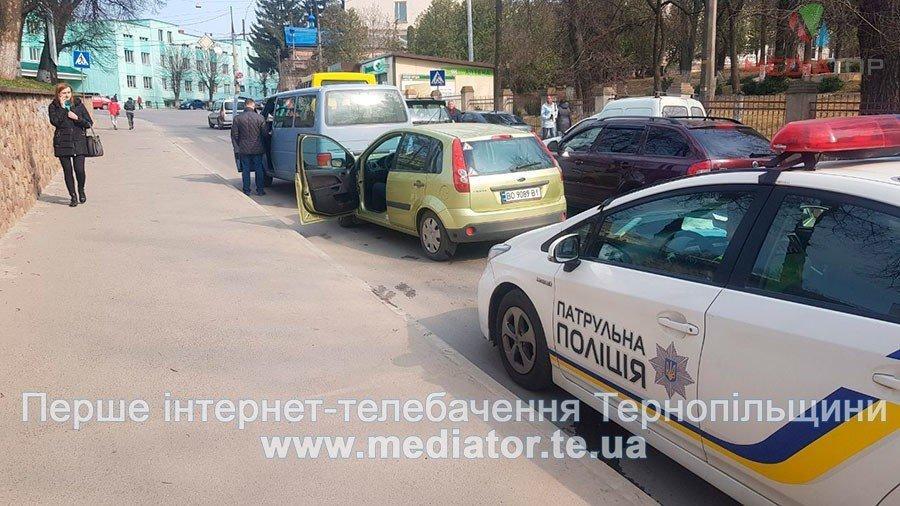 У Тернополі священик потрапив у ДТП (ФОТО)