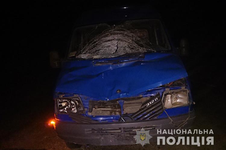 """Смертельна аварія на Тернопільщині: водій на """"Мерседесі"""" збив чоловіка, що стояв посеред дороги (ФОТО)"""