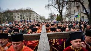 14 квітня у Тернополі передпасхальна Хресна хода (ВІДЕО)