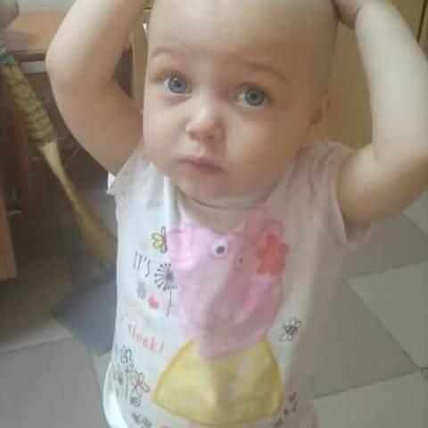Допоможіть одужати Алінці: у дворічної дівчинки виявили страшну хворобу