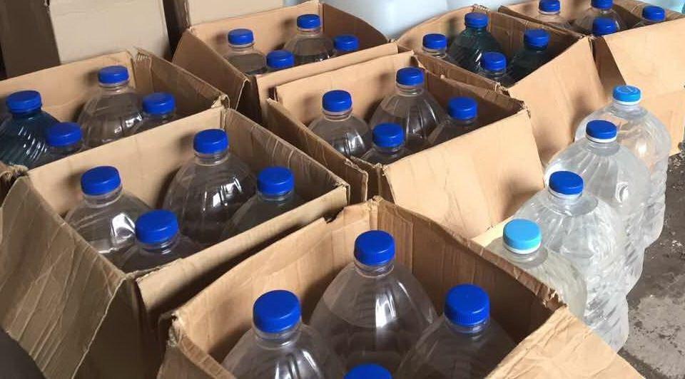 Фіскали вилучили із незаконного обігу більше 5 тонн спирту у Тернополі