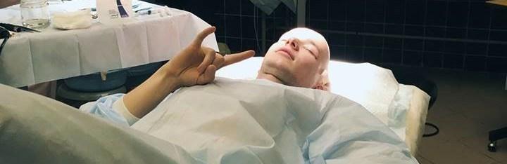 Історія перевтілення: через залисини на голові тернополянин відважився на операцію (ВІДЕО)