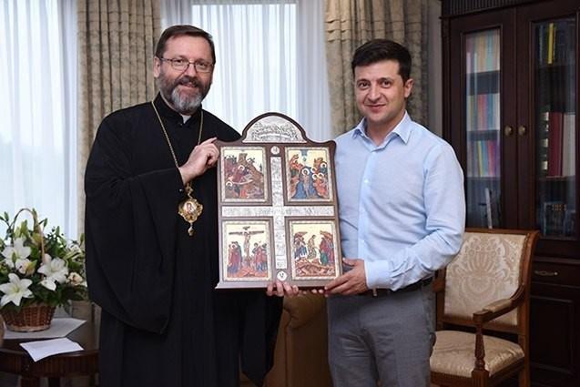 Зеленський зустрівся з Главою УГКЦ