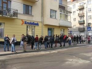 У Тернополі заробітчанський ажіотаж перед відділеннями польських банків