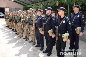 Тернопільські поліцейські вирушили на ротацію на Донбас
