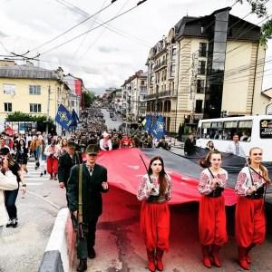 У Тернополі пройшов марш до Дня Героїв