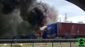 ДТП у Польщі: на трасі зіткнулися і загорілися 7 автомобілів, 6 людей загинули