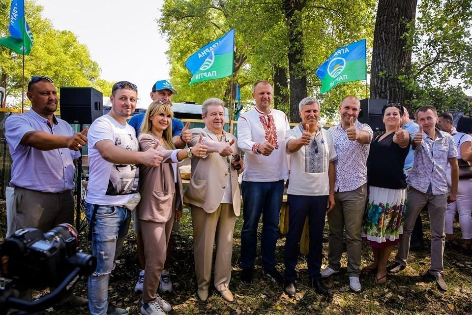 Лідер Аграрної партії Михайло Поплавський взяв участь у фестивалі «Відродження українського села»