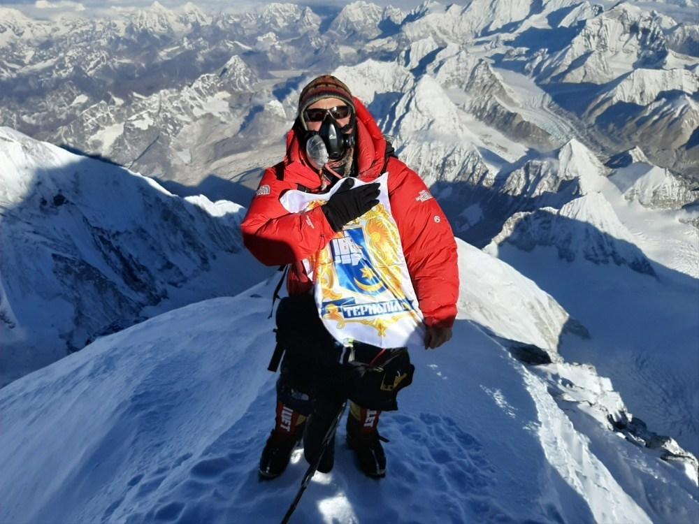 Альпініст родом з Тернополя підкорив найвищу гору в світі