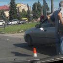 Аварія у Тернополі: на пішохідному збили жінку (ВІДЕО)