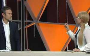 Тимошенко спитала у Вакарчука в прямому ефірі ціну на газ (ВІДЕО)