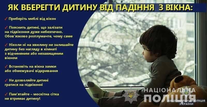 У Тернополі з вікна випала дитина: малюк у важкому стані