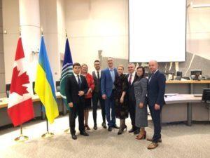 Сергій Надал у столиці Канади презентував електронні сервіси Тернополя