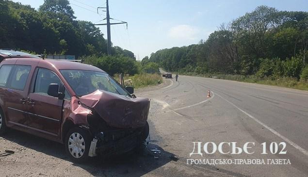 Поблизу Тернополя аварія з потерпілими (ФОТО)