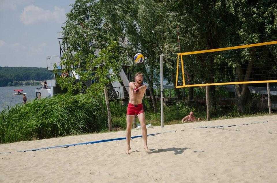 У Тернополі взялися розвивати пляжний спорт (ФОТО)