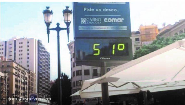 Через нестерпну спеку у Європі загинуло вісім людей