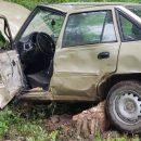 На Тернопільщині авто вилетіла з дороги (ФОТО)
