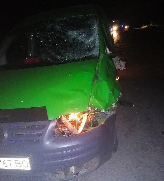 Смертельна аварія на Тернопільщині: авто збило пішохода (ФОТО)