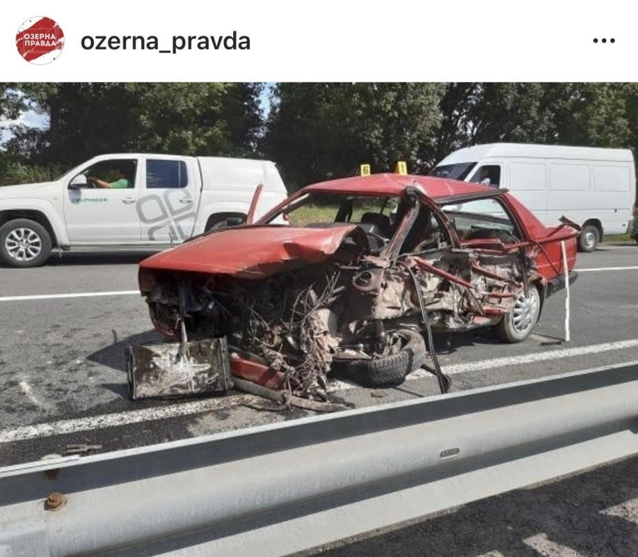 Смертельна аварія на Тернопільщині: авто вщент розтрощені (фото)