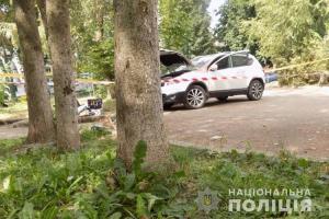 В центрі Тернополя намагалися підірвати дорогий автомобіль (ФОТО)