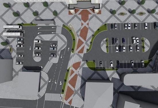 Що зроблять із стоянкою біля залізничного вокзалу (ФОТО)